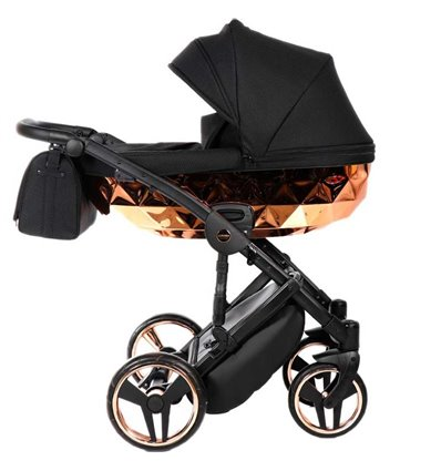 Дитяча коляска 2 в 1 Tako Junama Diamond Mirror 01 Bronze