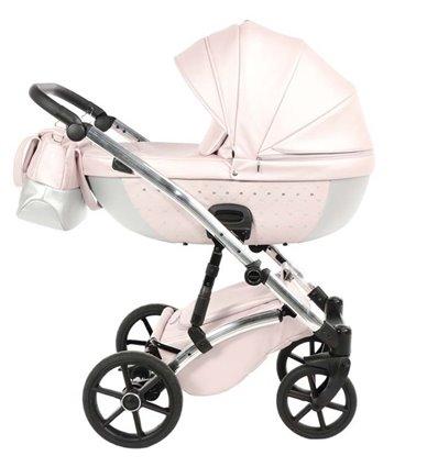 Дитяча коляска 2 в 1 Tako Cristal 01 рожева