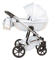 Дитяча коляска 2 в 1 Tako Cristal 02 біла