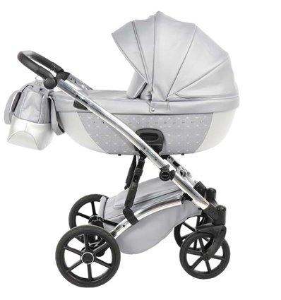 Дитяча коляска 2 в 1 Tako Cristal 03 сіра