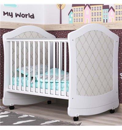 Дитяче ліжечко СідіМ Glamour з шухлядою