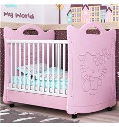Дитяче ліжечко СідіМ Кітті з шухлядою