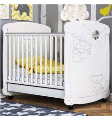 Дитяче ліжечко СідіМ Коали з шухлядою