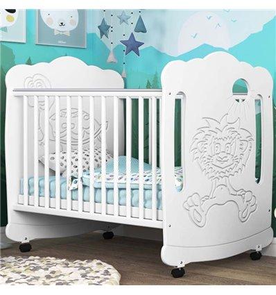Дитяче ліжечко СідіМ Левеня з шухлядою