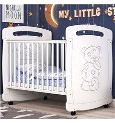 Дитяче ліжечко СідіМ Тедді з шухлядою