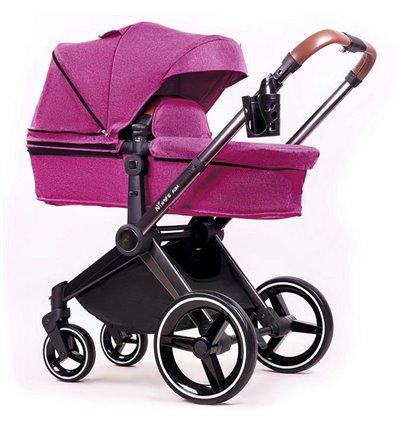 Дитяча коляска 2 в 1 Ninos Alba Purple