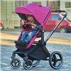 Дитяча коляска 2 в 1 Ninos Alba Melange Grey
