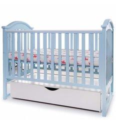 Дитяче ліжечко Twins iLove голубе