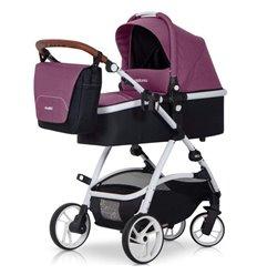Дитяча універсальна коляска 2 в 1 EasyGo Optimo Purple