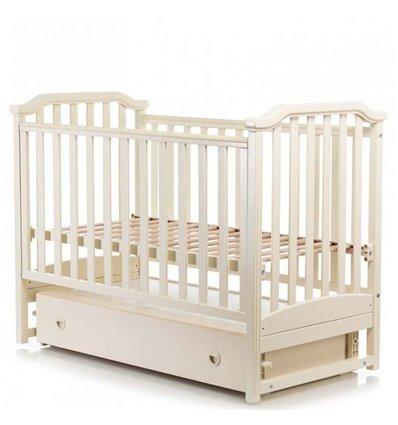 Дитяче ліжечко MiooBaby Caprice Ivory