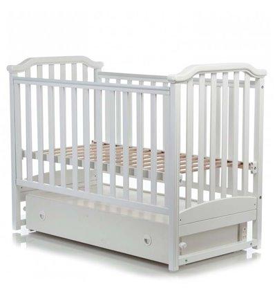 Дитяче ліжечко MiooBaby Caprice White