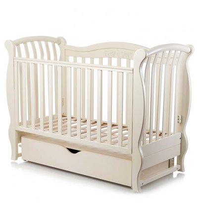 Дитяче ліжечко MiooBaby Sinfonia Ivory
