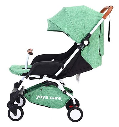 Дитяча прогулянкова коляска Yoya Care 2018 зелена