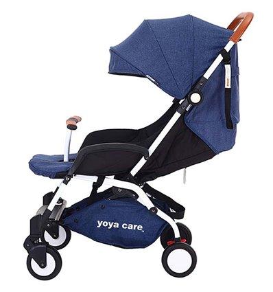 Дитяча прогулянкова коляска Yoya Care 2018 темно синя