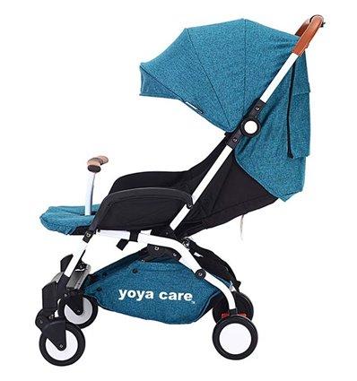 Дитяча прогулянкова коляска Yoya Care 2018 синя