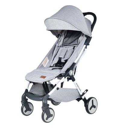 Дитяча прогулянкова коляска Yoya Care Future 2019 сіра