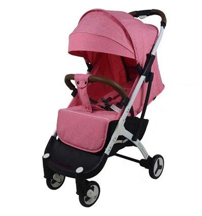 Дитяча прогулянкова коляска Yoya Plus 3 рожева