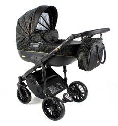Дитяча коляска 3 в 1 Adbor Ottis Black Ob-01