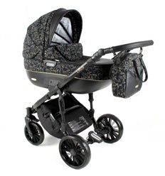 Дитяча коляска 3 в 1 Adbor Ottis Black Ob-03