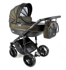 Дитяча коляска 3 в 1 Adbor Ottis Black Ob-04