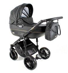 Дитяча коляска 3 в 1 Adbor Ottis Black Ob-05