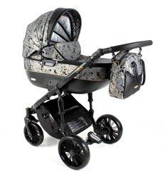 Дитяча коляска 3 в 1 Adbor Ottis Black Ob-06
