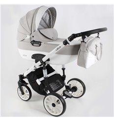 Дитяча коляска 3 в 1 Adbor Ottis White Ow-03