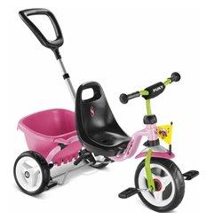 Велосипед триколісний Puky CAT 1S рожевий