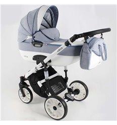 Дитяча коляска 3 в 1 Adbor Ottis White Ow-06