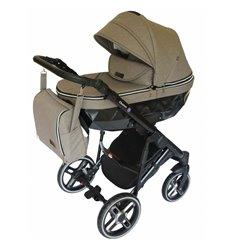 Дитяча коляска 2 в 1 Broco Chance 857 beige melange