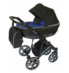 Дитяча коляска 2 в 1 Broco Monaco dark blue