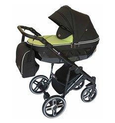 Дитяча коляска 2 в 1 Broco Monaco light green