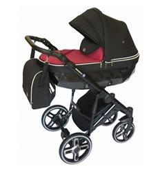 Дитяча коляска 2 в 1 Broco Monaco pink