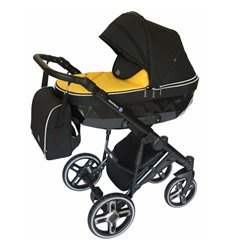 Дитяча коляска 2 в 1 Broco Monaco yellow