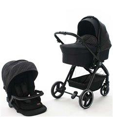 Дитяча коляска 2 в 1 BabyZz B102 темно сіра