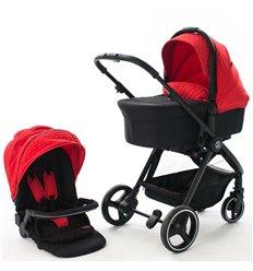 Дитяча коляска 2 в 1 BabyZz B102 червона