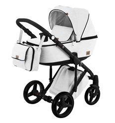 Дитяча коляска 2 в 1 Adamex Riccio Y208 - 100% еко шкіра