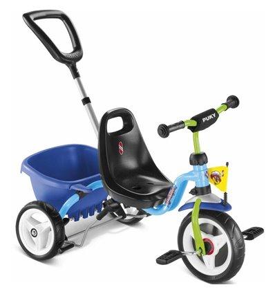 Велосипед триколісний Puky CAT 1S голубий