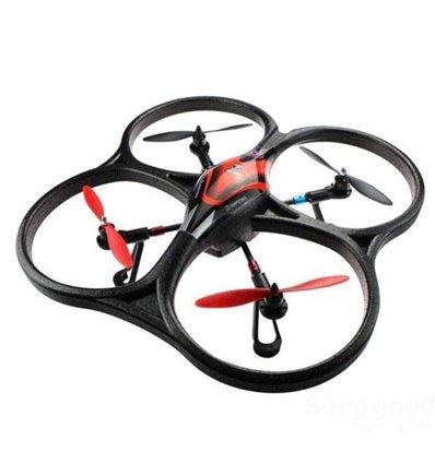 Квадрокоптер великий р/у 2.4GHz WL Toys V393 Cyclone безколекторний