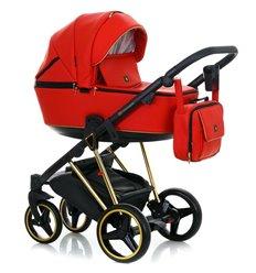 Дитяча коляска 2 в 1 Adamex Cristiano CR-313 еко-шкіра 100%