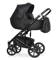 Дитяча коляска 2 в 1 Riko Ozon 06 Black