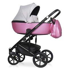 Дитяча коляска 2 в 1 Riko Ozon Shine 01 Pink