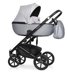 Дитяча коляска 2 в 1 Riko Ozon Shine 03 Grey