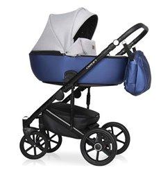 Дитяча коляска 2 в 1 Riko Ozon Shine 04 Blue