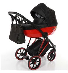 Дитяча коляска 2 в 1 Tako Junama Diamond V-Plus 04 Red