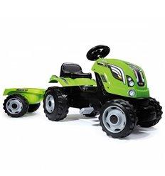 Трактор педальний з причіпом FARMER XL Smoby 710111