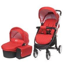 Дитяча універсальна коляска 2 в 1 4Baby Atomic Duo Red