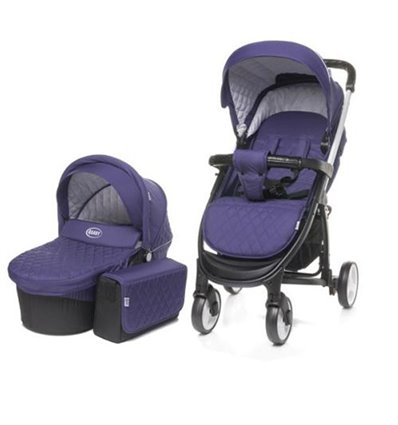 Дитяча універсальна коляска 2 в 1 4Baby Atomic Duo Purple