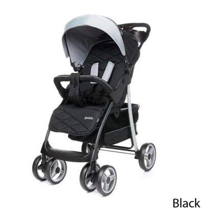 Дитяча прогулянкова коляска 4Baby Guido Black