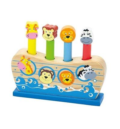 """Іграшка Viga Toys """"Веселий ковчег"""" (50041)"""